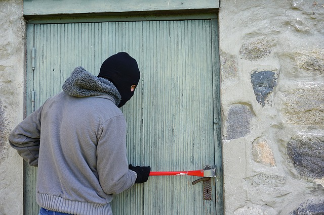 Break in burglar home security